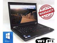 Lenovo Thinkpad T430 Windows 7 Laptop i5 3rd Gen 2.6Ghz 8Gb 128Gb SSD