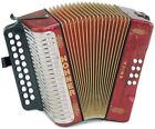 HOHNER Accordions with 8 Bass Keys