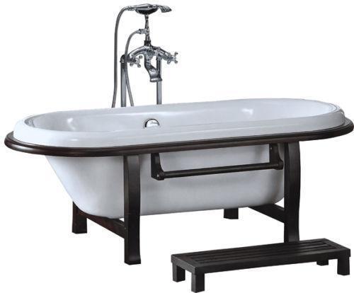 Acrylic Clawfoot Tub Plumbing Fixtures eBay