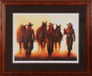 "Ducks Unlimited ""Forever Friends"" Horse Cowgirl Picture"