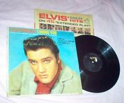 Elvis Presley Loving You LP
