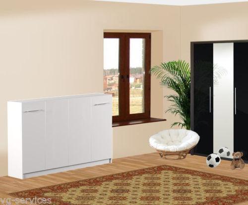 schrankbett klappbett 140 betten wasserbetten ebay. Black Bedroom Furniture Sets. Home Design Ideas