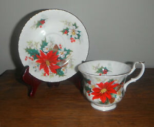 Royal Albert bone china CHRISTMAS CUP AND SAUCER