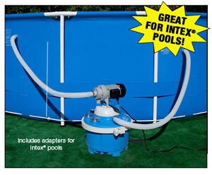 Above Ground Soft Side Pools Or Intex Sand Filter And Pump Includes Adapters Ebay