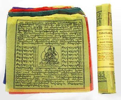 Gebetsfahnen aus Nepal, mittel, Gesundheit/Schutz, Wohlstand/Glück, Frieden, ...