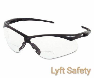 JACKSON NEMESIS 28627 V60 ANSI Rx +2.5 Diopters Readers Safety Glasses~PICK - Nemesis Rx Safety Glasses