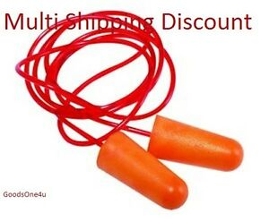 NRR-32-DB-Foam-Earplug-Hearing-Protection-soft-Foam-Ear-plug-1-Pairs-COD