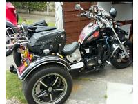 Motorcycle Trike. .
