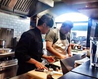 chefs and kitchen workers