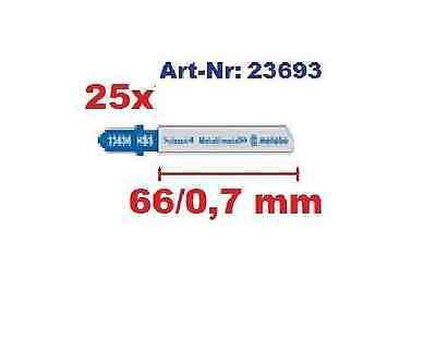 Stichsägeblätter 25 Metabo Classic f. Metall Art. 6.23693 gefräst gewellt