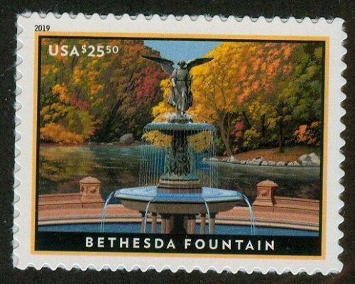U.S. - 5348 - Bethesda Fountain - EXTRA FINE - Never Hinged