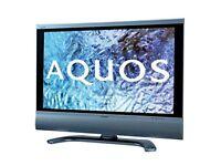 "Sharp 32"" LCD TV SOUND BAR BUILT IN"