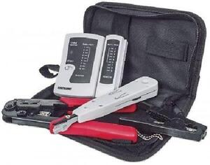 Intellinet 4-Piece Network Tool Kit - Composed of LAN Tester, LS