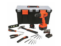 New Black and Decker 62 piece DIY Project Kit. Was £119.99, Sell £50