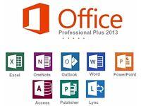 MICROSOFT PRO OFFICE SUITE 2013 PC
