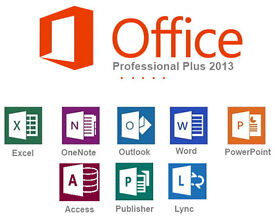 MICROSOFT OFFICE PROFESSIONAL SUITE 2013