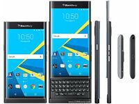 BLACKBERRY PRIV STV100-1 BLACK 32GB (UNLOCKED) BRAND NEW & SEALED 4G LTE