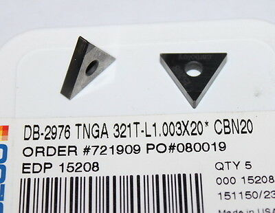 Db-2976 Tnga 321 T-l1.003x20 Cbn20 Seco Insert