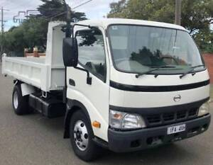 FROM $633 PER MONTH ON FINANCE* 2006 HINO 300 Series 414 TIPPER