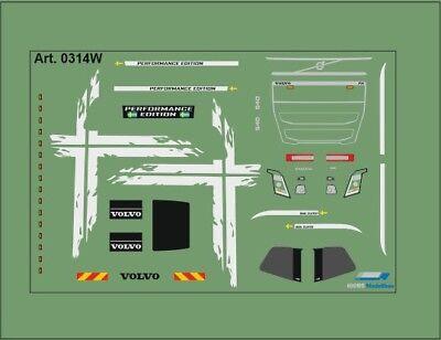 H0/1:87 DIS0314W Decals• für Volvo FH4 /Performence Edition/weiß online kaufen