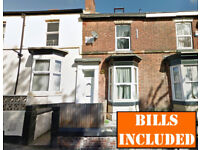 5 BEDROOMED student house within walking distance to University of Sheffield. BILLS INCLUSIVE.