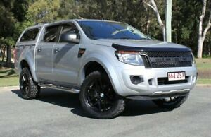 2015 Ford Ranger PX MkII XL Silver 6 Speed Sports Automatic Cab Chassis Southport Gold Coast City Preview