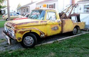 1965 ford tow truck, rat rod truck