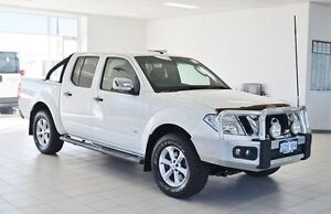 2011 Nissan Navara D40 ST-X 550 (4x4) White 7 Speed Automatic Dual Cab Utility Morley Bayswater Area Preview