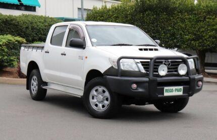 2012 Toyota Hilux KUN26R MY12 SR Double Cab Glacier 4 Speed Automatic Utility Acacia Ridge Brisbane South West Preview