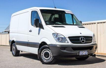 2012 Mercedes-Benz Sprinter NCV3 MY12 313CDI Low Roof SWB White 6 Speed Manual Van