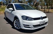 2014 Volkswagen Golf VII MY14 110TDI DSG Highline White 6 Speed Sports Automatic Dual Clutch Hyde Park Unley Area Preview