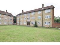 Good- sized, pleasant ground floor flat, close to Feltham Station, Heathrow and Hounslow