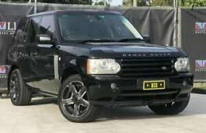 2007 Land Rover Range Rover Vogue Black Automatic 4-Door Wagon Carrara Gold Coast City Preview