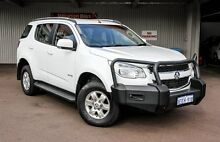 2013 Holden Colorado 7 RG MY13 LT Olympic White 6 Speed Sports Automatic Wagon Northbridge Perth City Preview