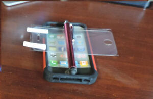 iphone 4s Case/ Screen protector
