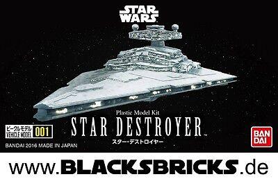 Star Wars Modellbausatz Sternenzerstörer von Bandai, Imperial Star Destroyer