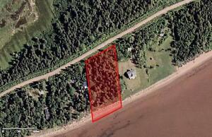 Waterfront Lot in New Brunswick, Upper Cape near Port Elgin and PEI, Warm Water!