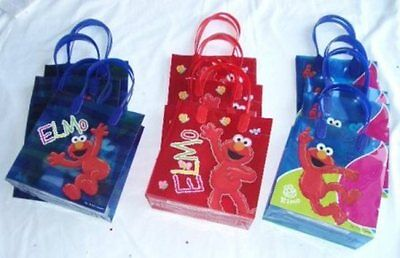 12 pcs SESAME STREET ELMO Party Favor Goody Gift Bag Wholesale Child Supply Lot](Baby Elmo Party Supplies)