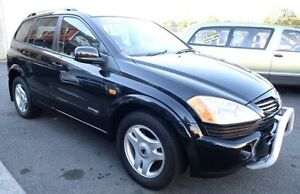 2006 Ssangyong Kyron D100 2.7 XDI Black 5 Speed Sequential Auto Wagon Underwood Logan Area Preview