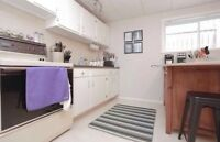 Bright, close to university- 2 bedroom basement suite