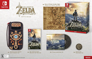 Legend of Zelda : Breath of the Wild Special Edition (Switch)