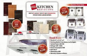STAINLESS STEEL UNDERMOUNT SINK SALE from $120