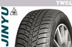 Set of 4 brand new P205/55R16 Jinyu YW51 winter tires