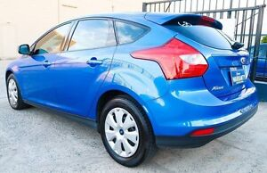 2013 Ford Focus LW MK2 AUTOMATIC + LOW KLMS Blue 6 Speed Automatic Hatchback Underwood Logan Area Preview