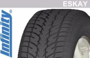 Set of 4 brand new winter tires P225/65R17 Infinity Eskay winter