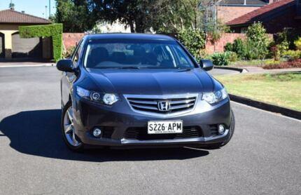 2012 Honda Accord Euro CU MY13 Luxury Grey 5 Speed Automatic Sedan Medindie Walkerville Area Preview