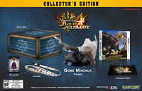 BRAND NEW: Monster Hunter 4 Ultimate Collector's Edition...