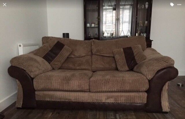 Two 3 seater settees for sale.
