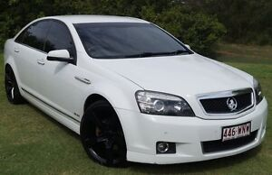 2010 Holden Caprice WM MY10 White 6 Speed Sports Automatic Sedan Bundaberg West Bundaberg City Preview