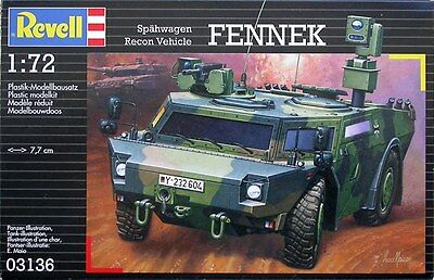 KIT REVELL 1:72 KIT DEMI MILITAIRE SPAHWAGEN RECON VEHICLE FENNEK ART. 03136